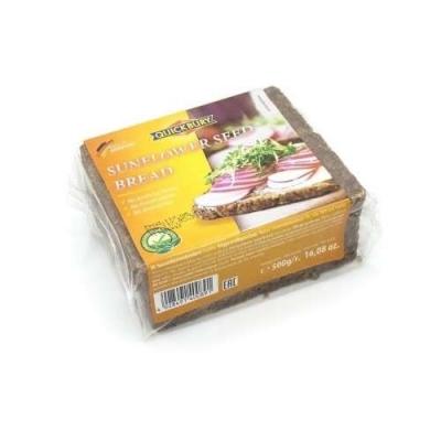 Фото упаковки хлеба Quickbury Sonnenblume Sunflower Seed Bread с семенами подсолнечника 500г