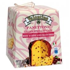 Кулич панеттоне пасхальный с изюмом и клюквой Valentino 500г