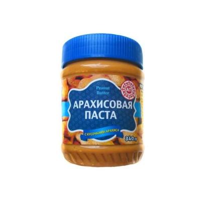 Арахисовая паста с кусочками арахиса 340гр