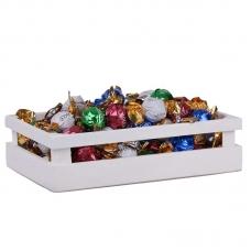 Шоколадные конфеты BARBIERI CHOCCO Ассорти №1 (с кокосовой, какао, молочной и  ореховой кремовыми начинками) 1000г