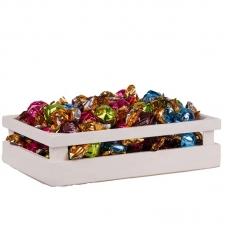 Шоколадные конфеты Barbieri Chocco Ассорти №2 (с кофейной, ореховой и хрустящими злаками, молочной и хрустящими злаками, лимонной кремовыми начинками) 1000г