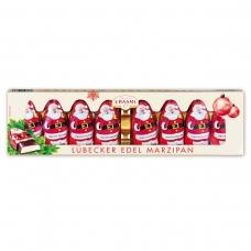 Шоколадные фигурки Carstens Lübecker Marzipan Дед Мороз с начинкой из классического марципана  100г
