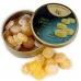 Фото откытой упаковки и леденцов Cavendish & Harvey со вкусом кислого лимона (sour lemon drops) 200г