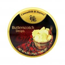 Леденцы Cavendish & Harvey со вкусом ириски, шотландские (creamy butterscotch drops) 175г
