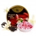 Фото упаковки и самих леденцов Cavendish & Harvey ревень и ваниль (rhubarb vanilla drops) 200г