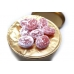Фото леденцов Cavendish & Harvey с клубничной начинкой (strawberry drops filled) крупный план