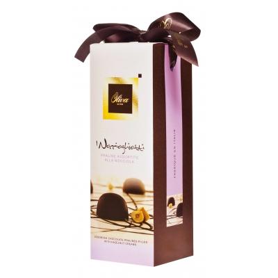 Шок.конфеты с начинкой пралине ассорти 300г Noccioghiotti (Tulip)