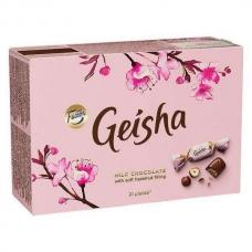 FAZER Гейша шоколадные конфеты с начинкой из тертого ореха 150 г