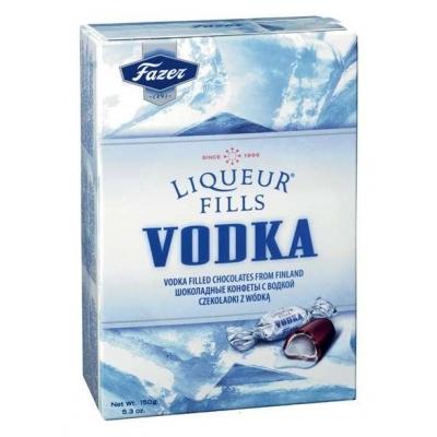 FAZER Водка МИКС(водка, водка клюква, водка лимон-лайм) шок. Конфеты 150 г.