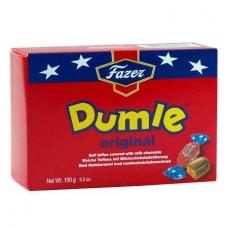 FAZER Думле  сливочный ирис в шоколаде конфеты 150 г.