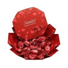 Мерлетто  Конфеты нуга, вишня, карамель 150г (красная коробка)