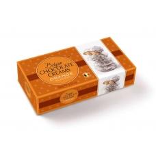 Шоколадные конфеты Geldhof кремовые снежки с апельсиновой начинкой 100г