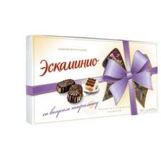 """Шоколадные конфеты Спартак """"Эскаминио"""" вкус тирамису 141г"""