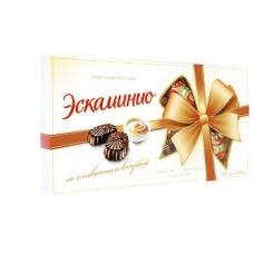 """Шоколадные конфеты Спартак """"Эскаминио"""" сливочный вкус 141г"""