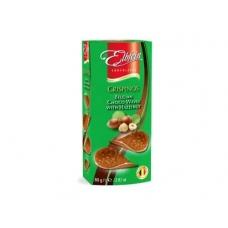 Хруст.молоч.шоколад в виде чипсов со вкус лес.ореха 80г (Crispinos Hazelnut)