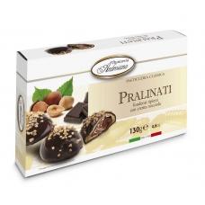 """Печенье в шоколаде Dolciara Ambrosiana """"Пралинати"""" с ореховой начинкой (pralinati nocciola) 130г"""