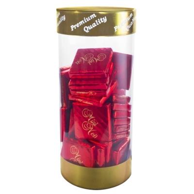 Фото упаковки конфет Eichetti вкус темного шоколада Mini Noir Confect 200г