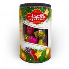 Конфеты Hajabdollah халва царская в фруктовой глазури со вкусом клубники 200гр туба