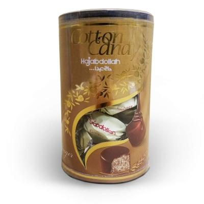 Фото упаковки конфет халва царская в шоколадной глазури со вкусом ванили Hajabdollah 200гр туба