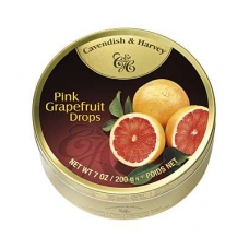 Леденцы Cavendish & Harvey розовый грейпфрут (pink grapefruit drops) 200г