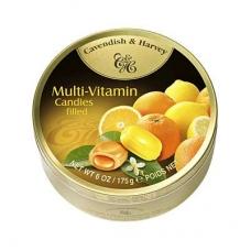 Леденцы Cavendish & Harvey мультивитамин (multivitamin drops filled) 175г