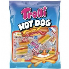 Мармелад Trolli Хот-дог жевательный фасованный Hot dog 150г
