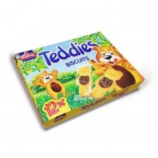 "Нора Печенье с какао кремом и драже ""Teddies"" (Тэдди) (14.6г*12) 175г"