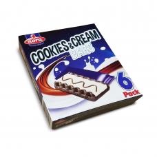 """Нора Печенье с какао, с белым кремом и молоч.шок.""""Cookies 'N Cream"""" (25г*6) 150г"""
