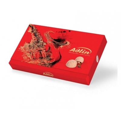 Фото упаковки иранских сладостей царская пашмала Adlin Красная со вкусом какао 420г