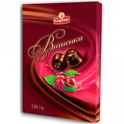 Шок.конфеты Вишенка 230г