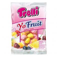 Trolli мармелад Йогурт-фрукты жевательный фасованный YoFruits 150г