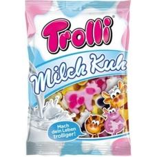 Trolli мармелад Коровки жевательный фасованный Milch Kuh 200г