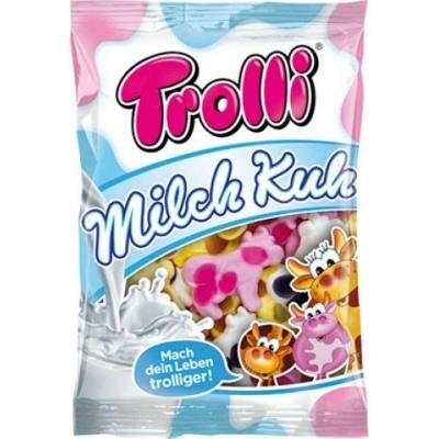 Фото упаковки мармелада Trolli Коровки Milch Kuh 200г