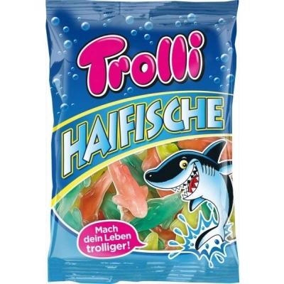 Фото упаковки Trolli мармелада жевательного Акулы Haifische 200г