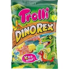 Trolli мармелад жевательный Динозавры фасованный суперкислый Dino Rex 200г