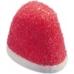 Фото жевательного мармелада Trolli Kiss Клубника со сливками крупный план