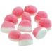 Фото жевательного мармелада Trolli Kiss Клубника со сливками