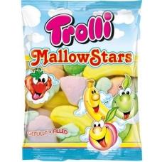 Маршмеллоу Trolli ассорти с фруктовой и ягодной начинками Mallow Stars 150г