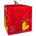 Фото упаковки вид слева кулича панеттоне с изюмом и цукатами 1000г Италия