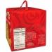 Фото упаковки вид сзади кулича панеттоне с изюмом и цукатами 1000г Италия