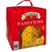 Фото упаковки вид справа кулича панеттоне с изюмом и цукатами 1000г Италия