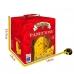 Фото упаковки с размерами панеттоне Италия с изюмом и цукатами 1000г