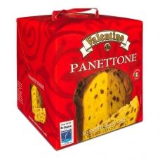 Рождественский кекс панеттоне с изюмом и цукатами Valentino 1000г