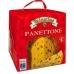 Фото упаковки вид сзади панеттоне с изюмом и цукатами 1000г Италия
