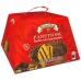 Фото упаковки спереди панеттоне с шоколадно-ореховым кремом Джандуйя 750г