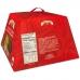 Фото упаковки сзади панеттоне с шоколадно-ореховым кремом Джандуйя 750г