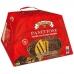 Фото упаковки справа панеттоне с шоколадно-ореховым кремом Джандуйя 750г