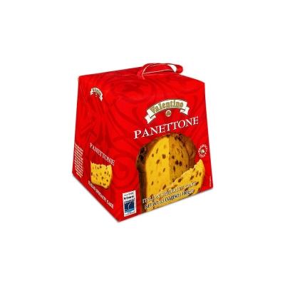 Фото упаковки панеттоне Валентино 100г с изюмом и цукатами