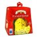 Фото вид спереди упаковка панеттоне Валентино 100г с изюмом и цукатами