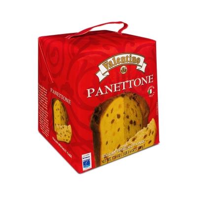 Фото упаковки пасхального кулича панеттоне Италия с изюмом и цукатами